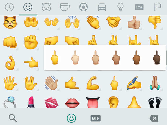 WhatsApp gets a legal notice for the middle finger emoji