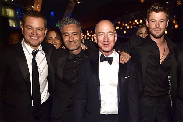 Jeff Bezos steps out! Why the world's richest person can afford any luxury, but not obscurity