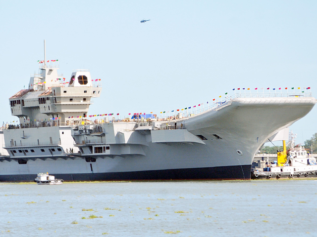 Aircraft carrier Vikrant to be commissioned by 2020: Official