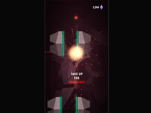 Try Jump Drive to see the awesome graphics and to improve hand-eye coordination