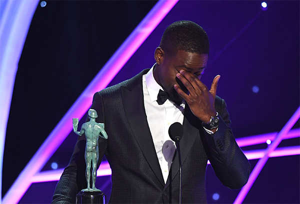 This Is Us: SAG Awards: Sterling K Brown becomes first African