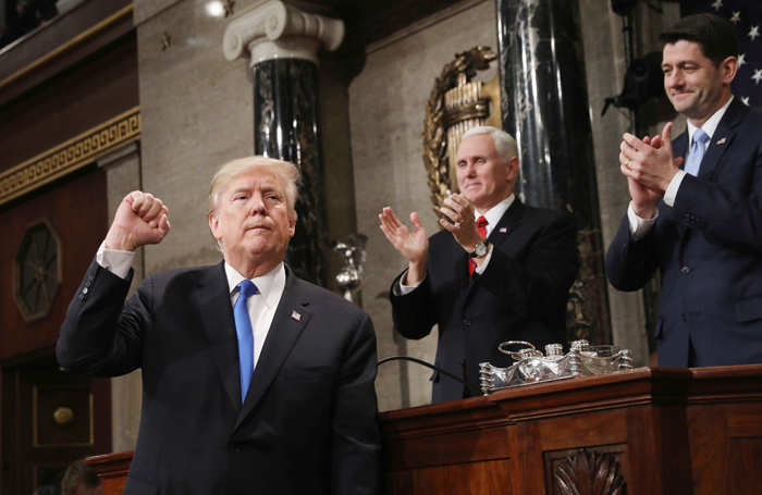 Widow of Indian techie, who was killed in Kansas hate crime, attends Trump's SOTU address