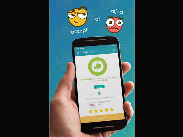 Chkfake review: This app lets you check for signs to help identify a fake currency note