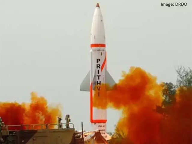 India successfully conducts night trial of Prithvi-II missile