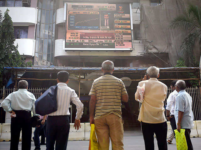 Sensex ends 25 pts lower; Nifty settles Feb F&O series at 10,383