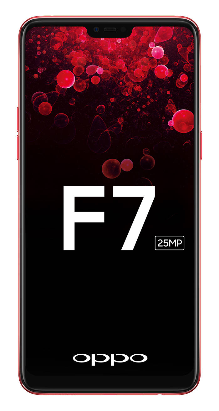 Exclusive: New Oppo F7 leaked, smartphone to have iPhone X-style notched display