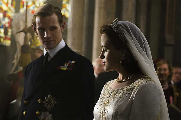 Queen, no queen! Claire Foy was paid less than Matt Smith for 'The Crown'