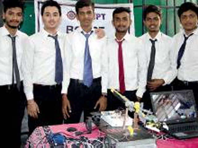Students make device to rescue children trapped in borewells thumbnail