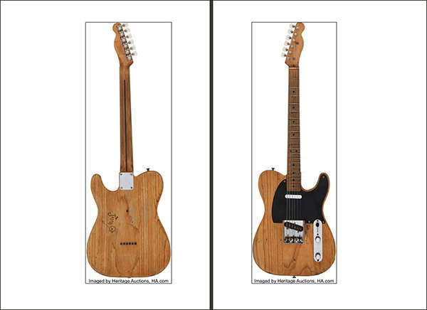 Blues legend Stevie Ray Vaughan's 1951 Fender fetches $250,000 at auction