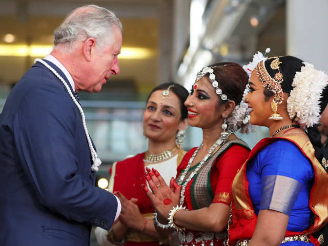 Prince Charles welcomes PM Narendra Modi to celebrate India's achievements in science and technology