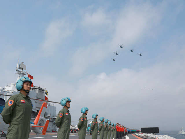 China carries out live fire drills, unclear if aimed at Taiwan