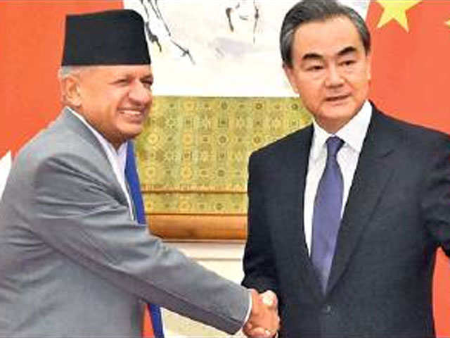 China eyes corridor to India via Nepal