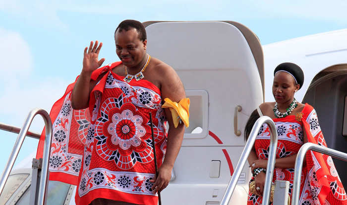 Meet King Mswati III of Swaziland, the 50-year-old monarch who has 15 wives and 23 children