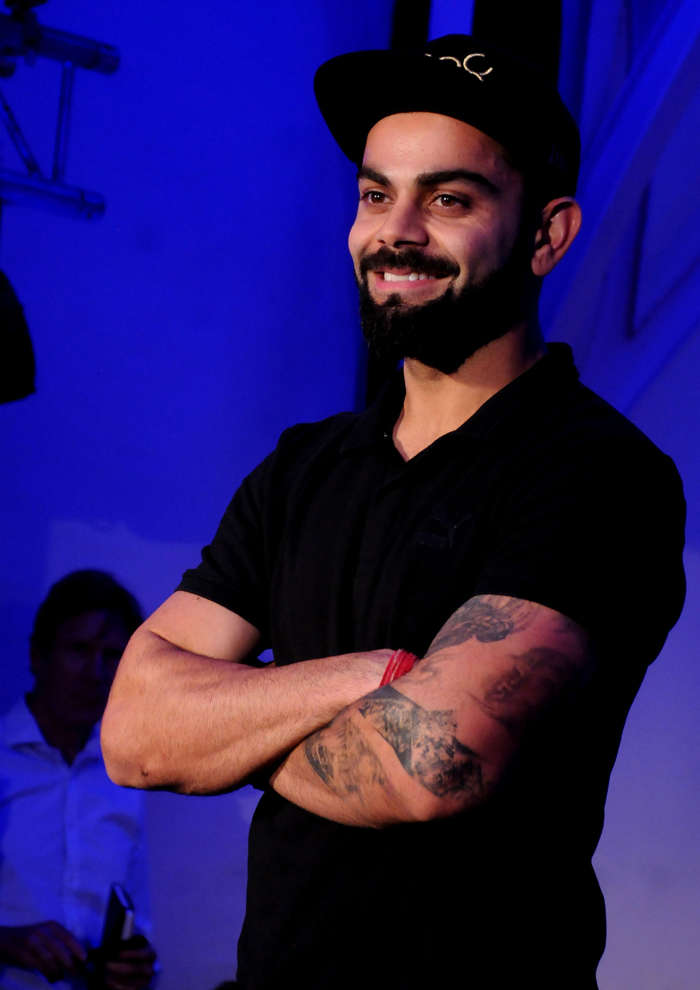 Virat Kohli enjoys experimenting with colours and style, loves his white sneakers