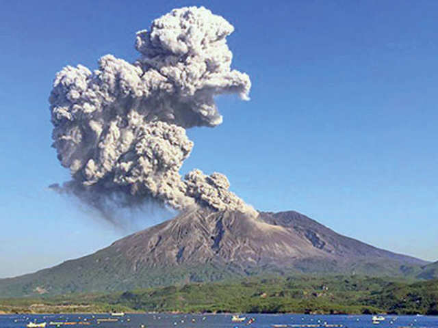 Some of the world's fearsome active volcanoes