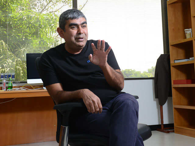 Former Infosys CEO Vishal Sikka earned about Rs 13 crore in FY18