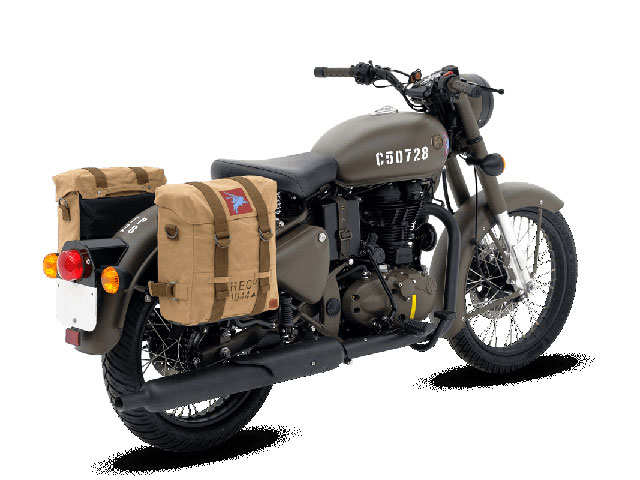India's first World War II-inspired motorcycle is here: Royal Enfield launches Classic 500 'Pegasus' in UK