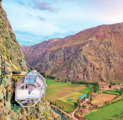 Explore the Tunnel of Love, stay in a honeymoon suite at 1200 ft in the air: Travel goals that are perfect for couples