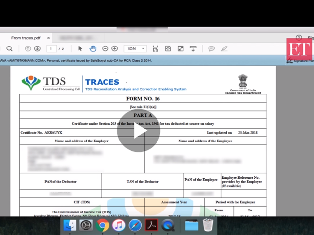 itr1 form: How to fill salary details in ITR1 for FY 2017-18 - The