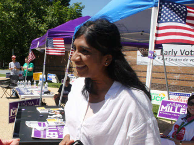 Miller in fray to be 2nd Indian-American woman to enter US House of Representatives thumbnail