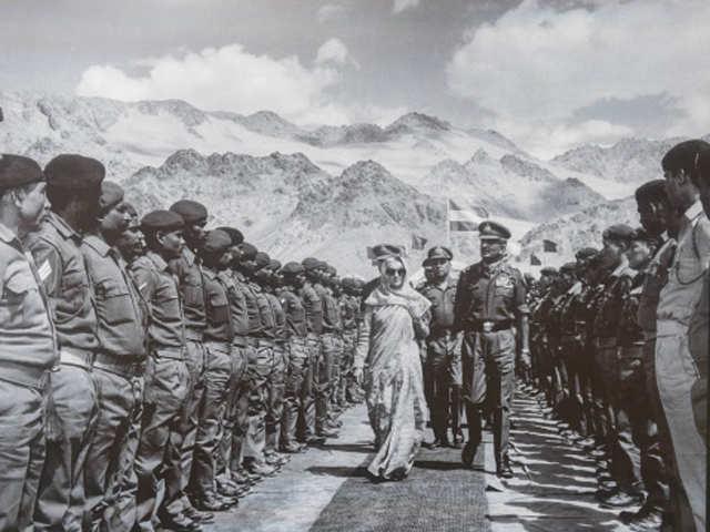 Indira Gandhi's contribution cannot written