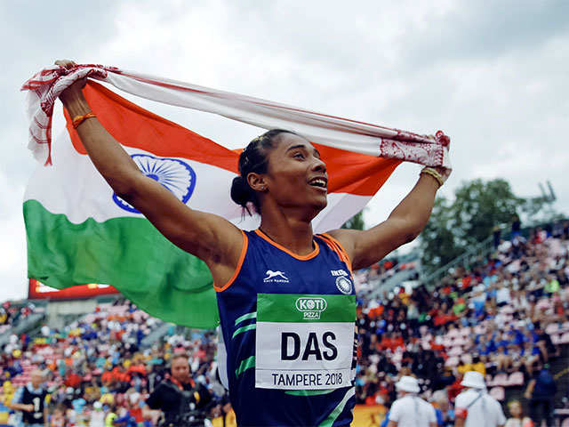 Goddess of speed: Hima Das' incredible sprint from Assam to Tampere