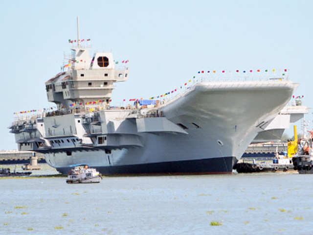 Sea trials of Vikrant expected to commence by 2020 thumbnail