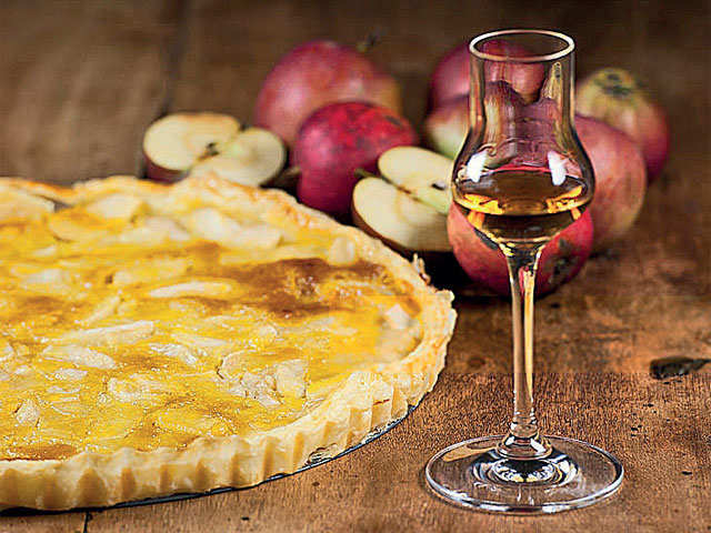 How calvados, the apple brandy from France, found its ardent followers
