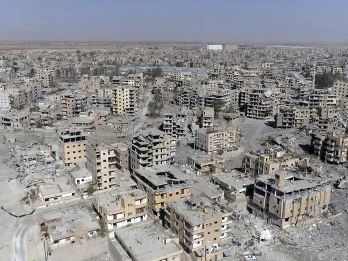 Syrian media say five drones shot down near Russian air base