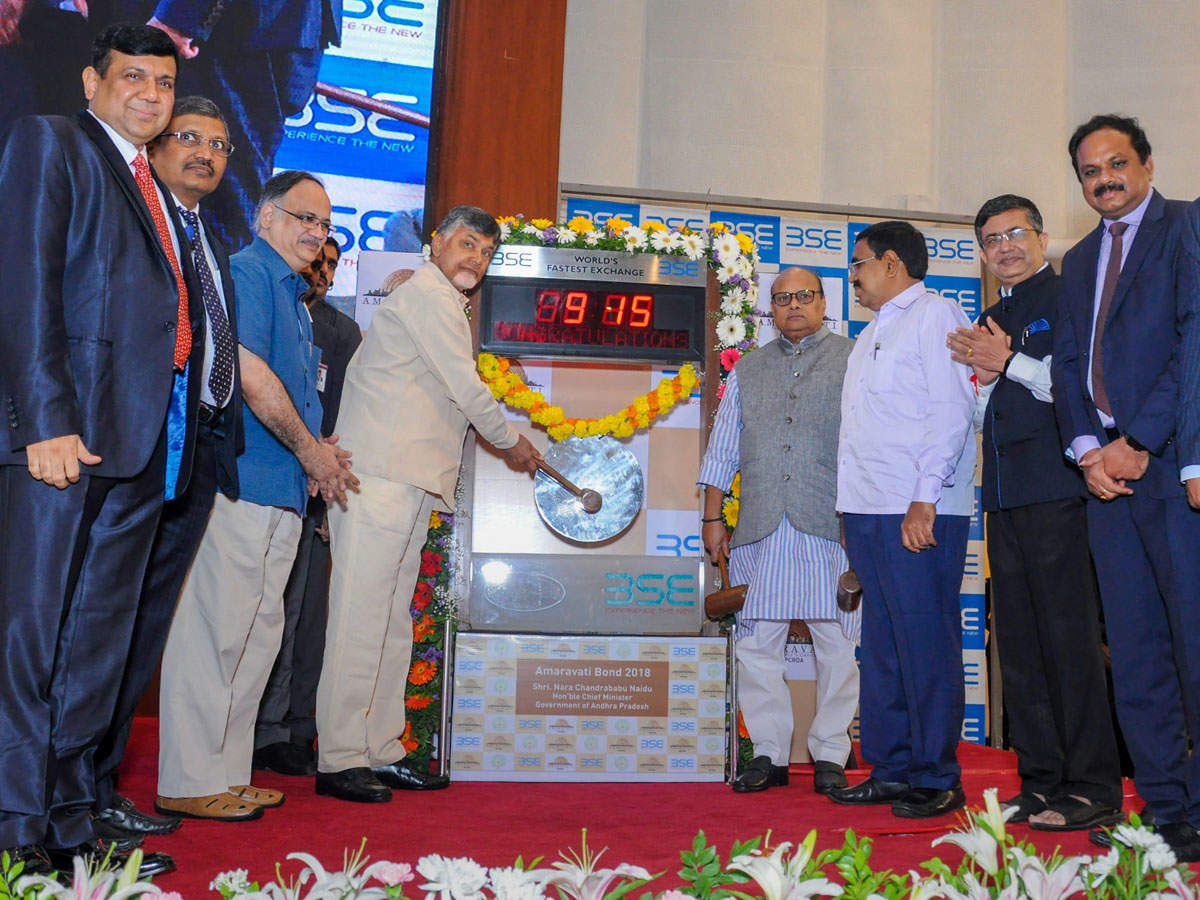 Bonds for new Andhra capital Amaravati listed on BSE thumbnail