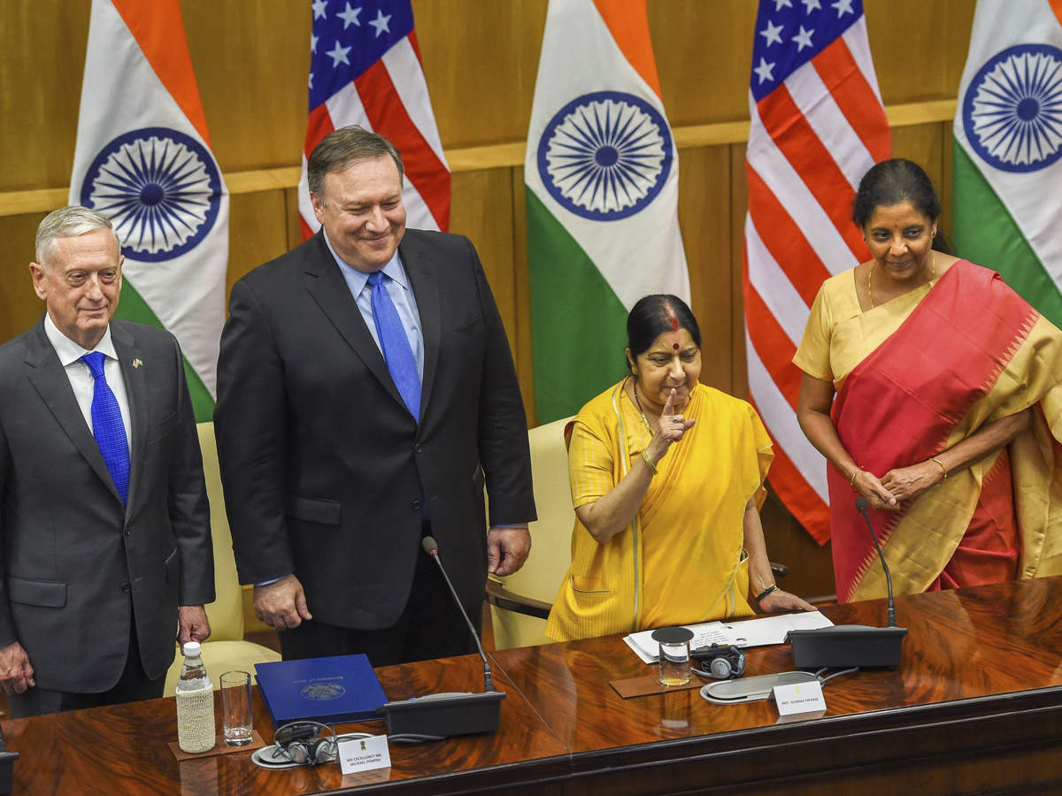 ET View: Deepening ties--the 2+2 Ministerial Dialogue