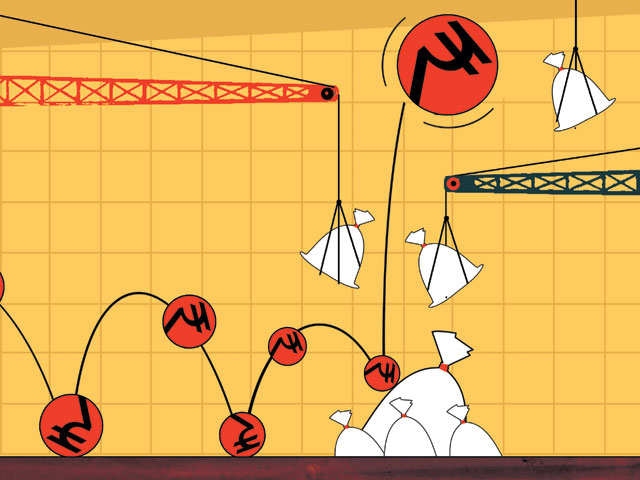 Rupee likely to be on a roller-coaster ride this year thumbnail