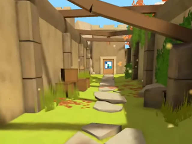The Pillar is a short, arcade-style escape game with excellent artful lens flare effects