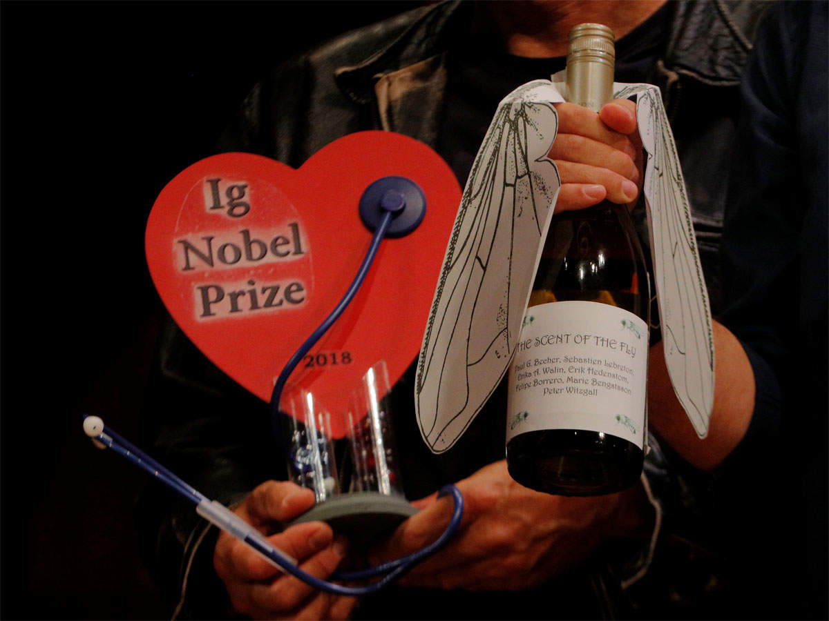 Absurd awards: Some of this year's Ig Nobel winners