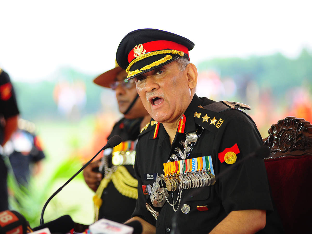 Believe in the need for another surgical strike, says Army Chief