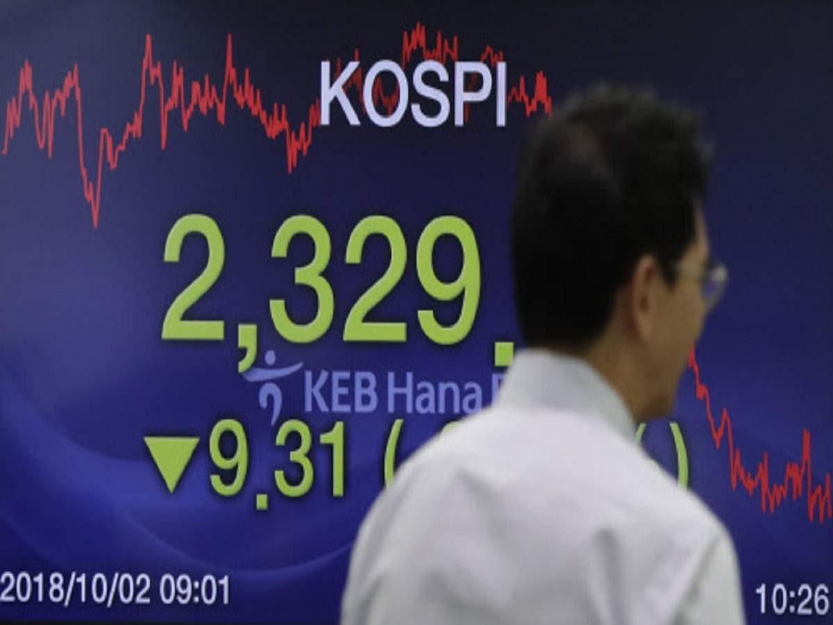 b2c06e6ee05 South Korean stocks see worst day in 7 weeks on US-China tension  won falls  At 06 32 GMT