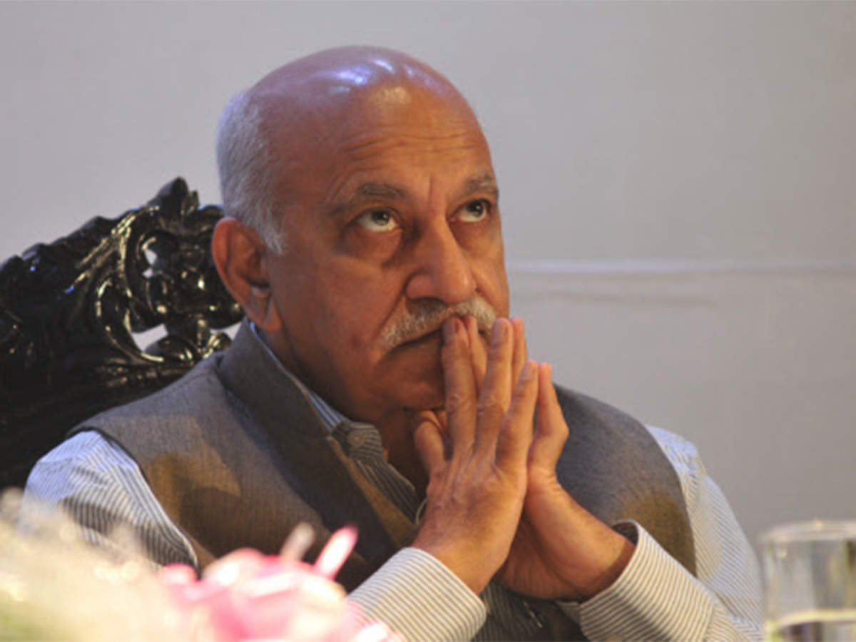 ET View: MJ Akbar must step down, or be removed