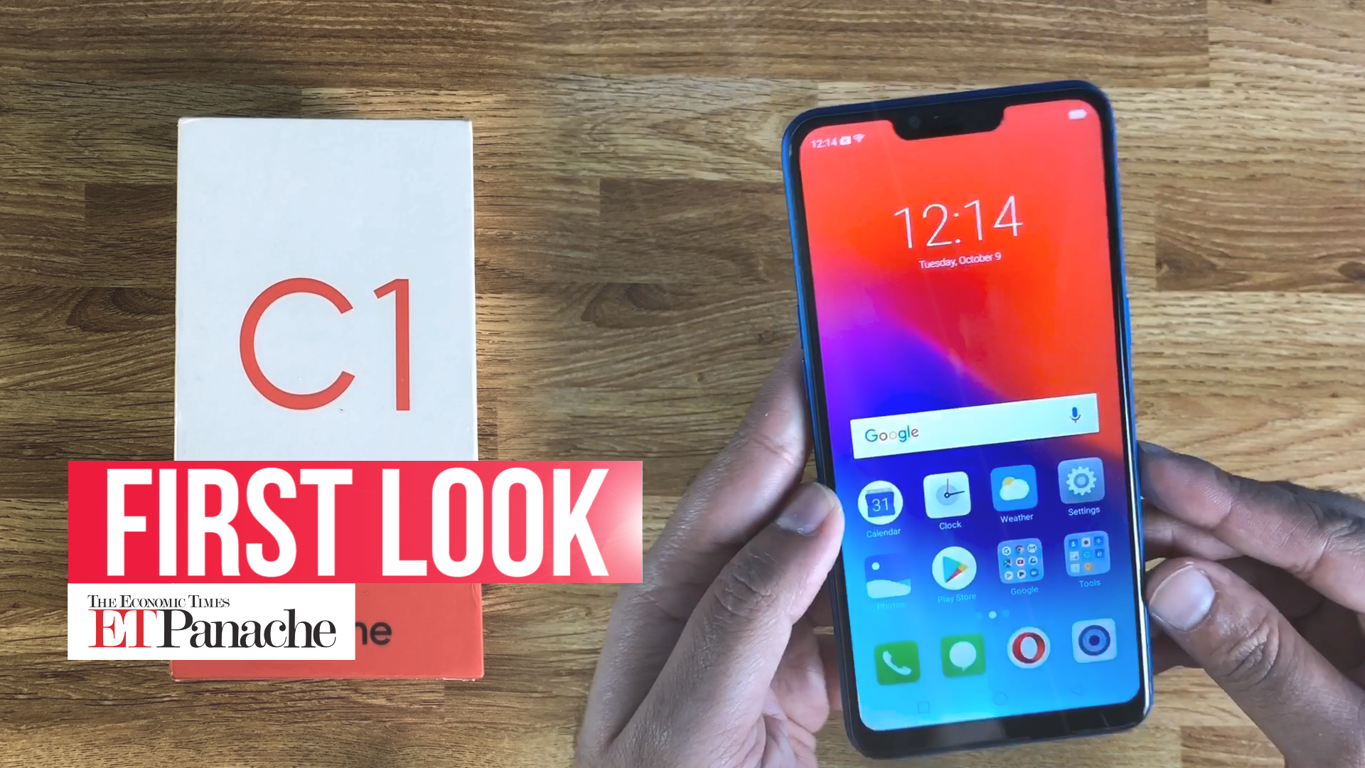 Watch: Unboxing of Oppo's cheapest phone Realme C1