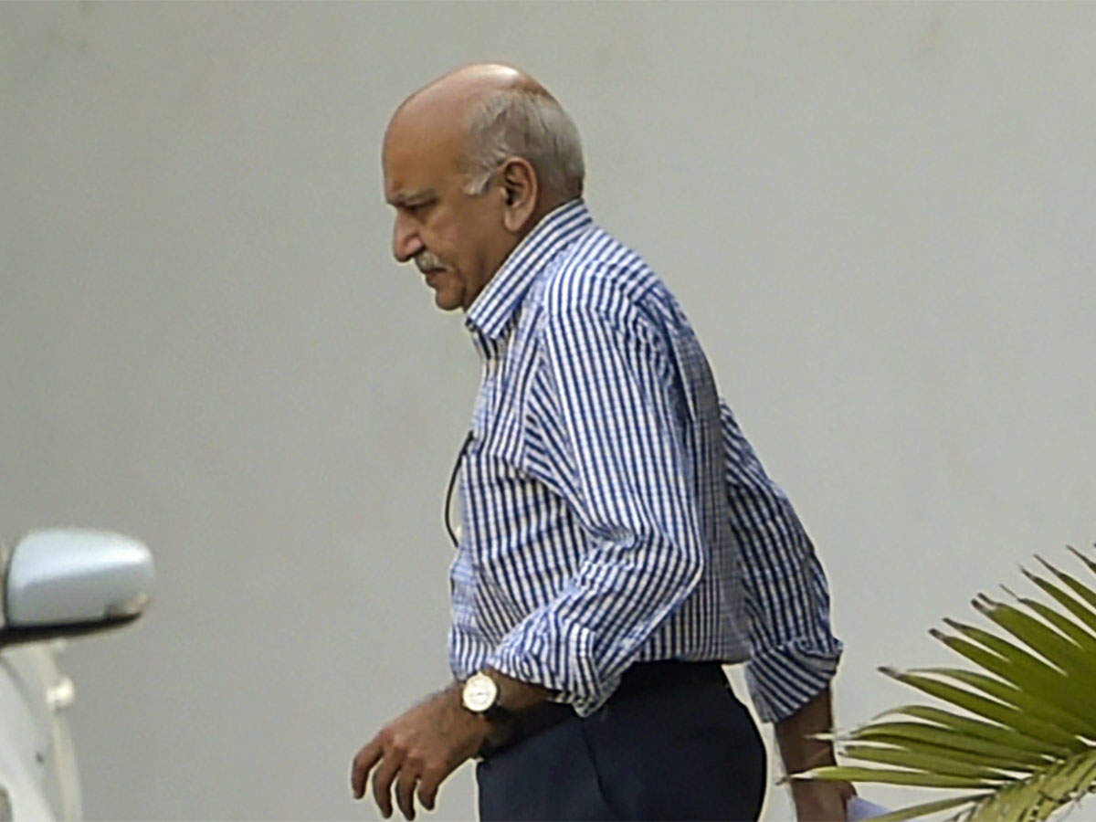ET View: For propriety's sake, MJ Akbar must step down