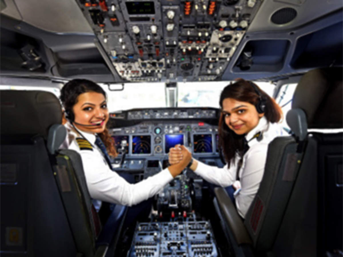Women pilots' percentage in India is twice that of global average, data shows thumbnail