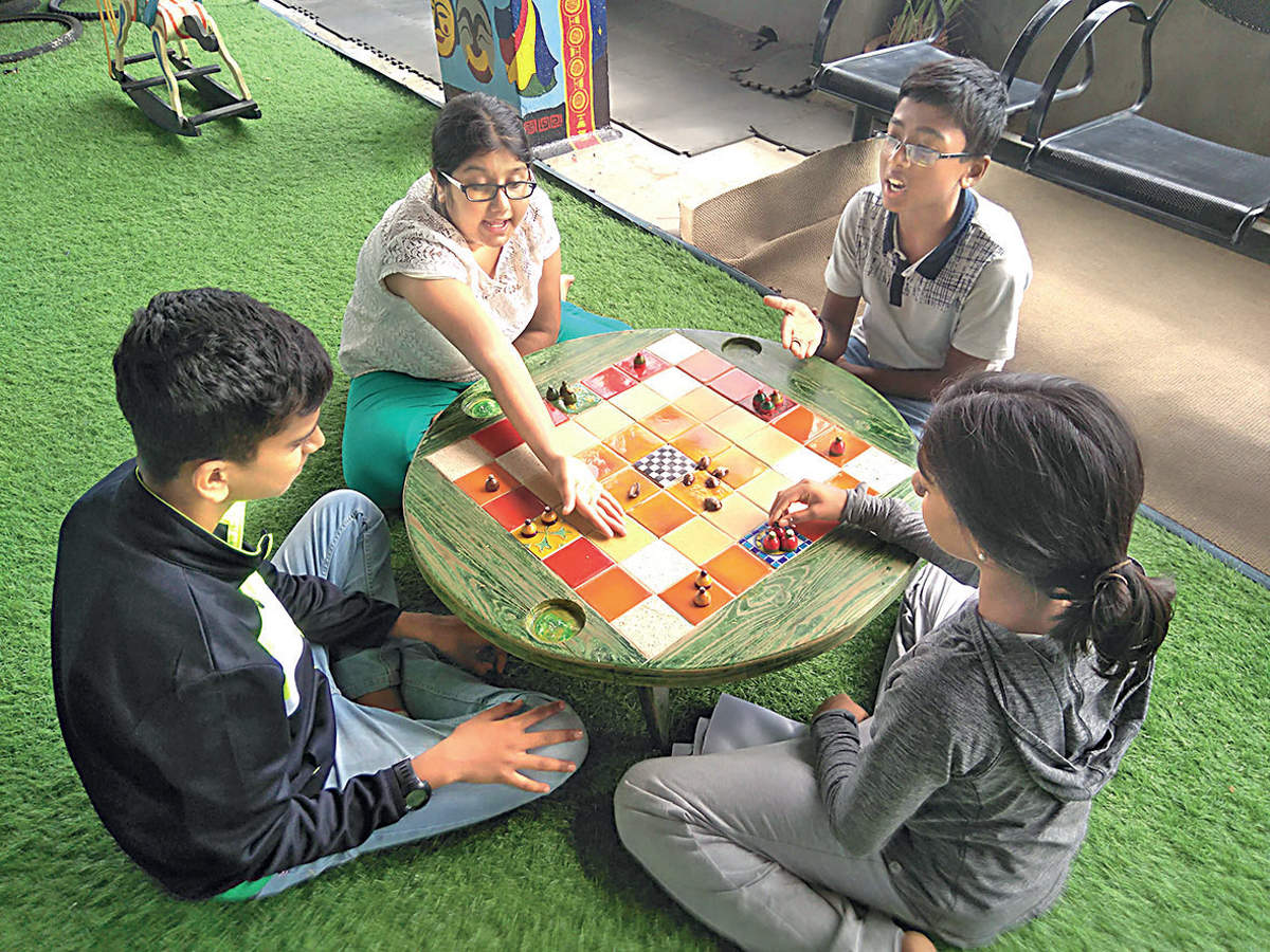Small community trying to rekindle the love for Indian board games