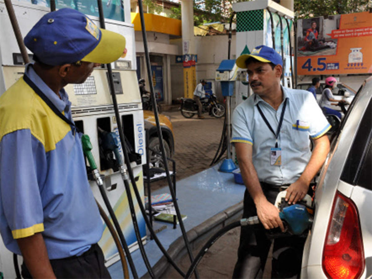 Prices of petrol declines by 19 paise, diesel costs 17 paise less thumbnail