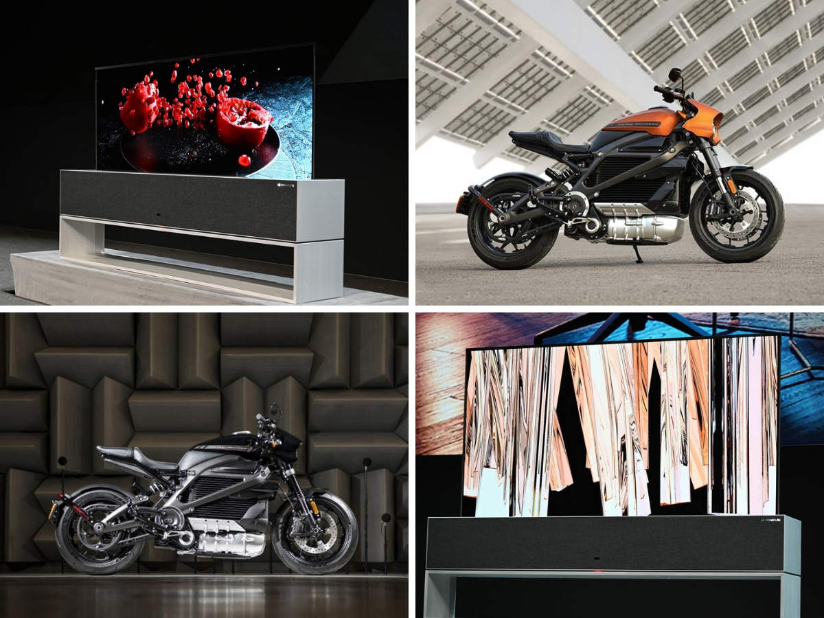 LG rollable OLED TV, HarleyDavidson Livewire: Jaw-dropping new tech from CES 2019