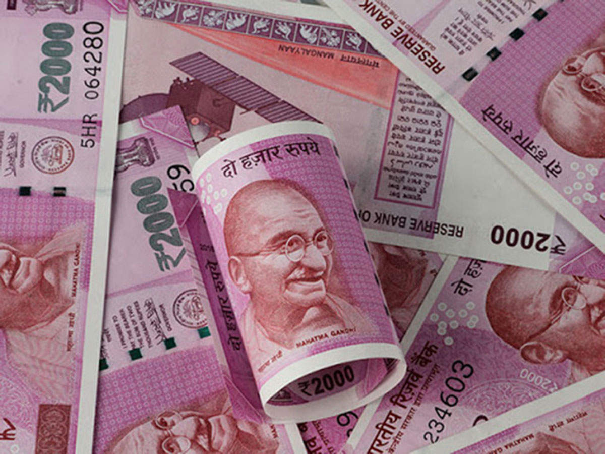Rupee falls 43 paise to end at near 1-month low