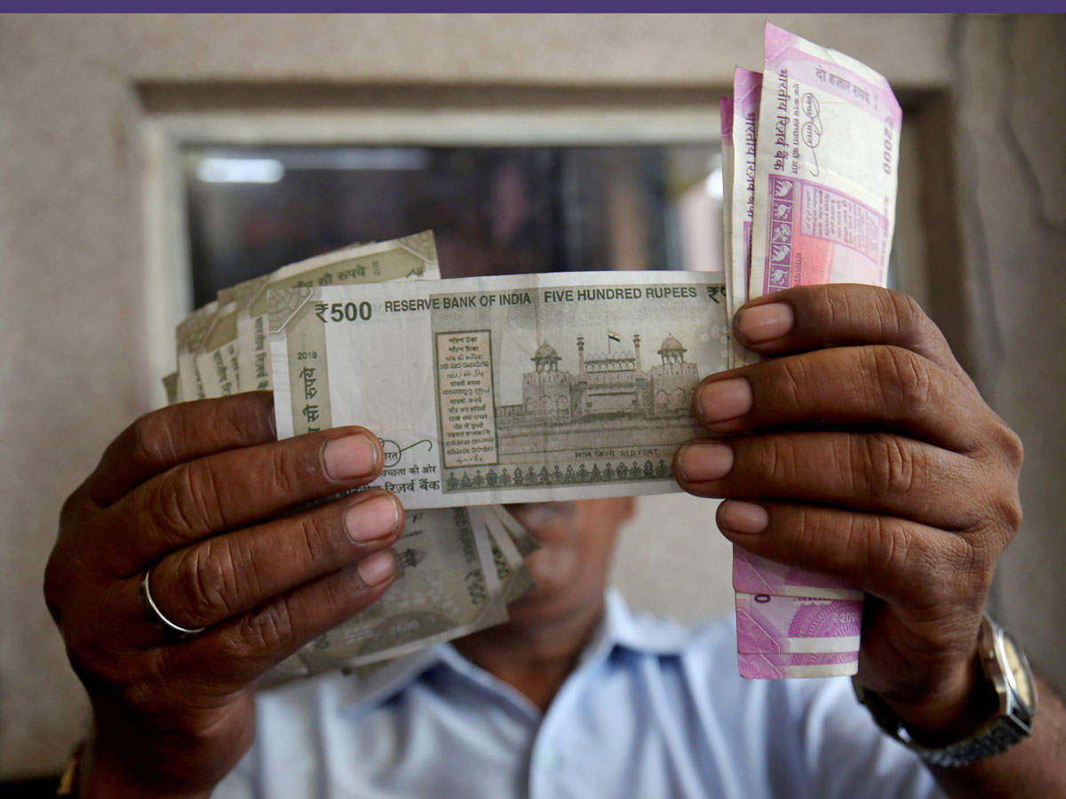Rupee logs first gain in 5 days, rises 21 paise
