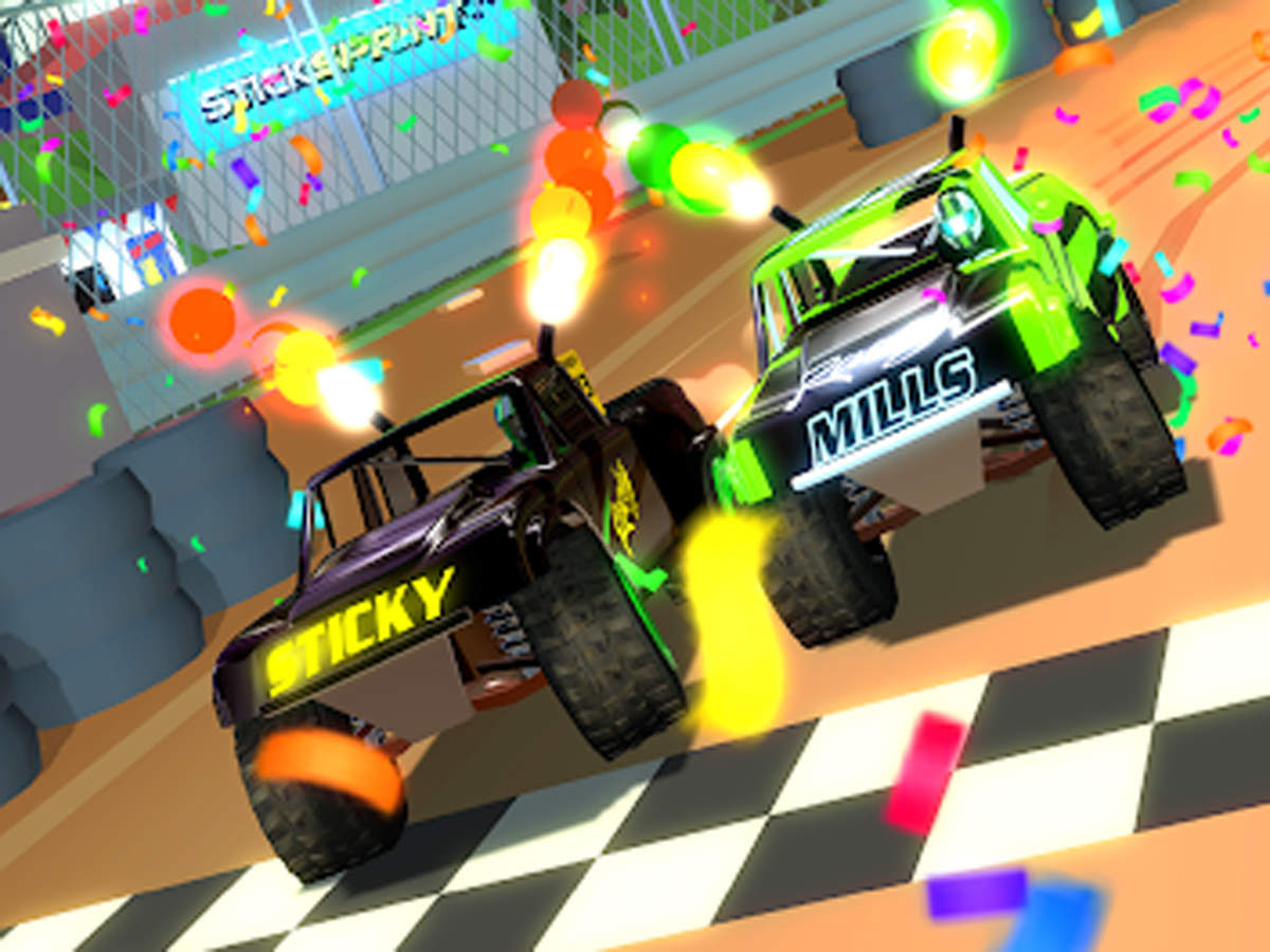 Stick Sprint review: The game puts you straight into the driver's seat