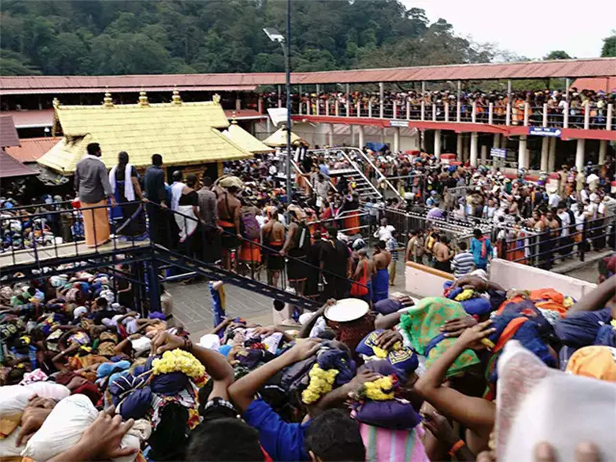 Women who want to worship Ayyappan face wrath from the elite Liberals Against Sabarimala
