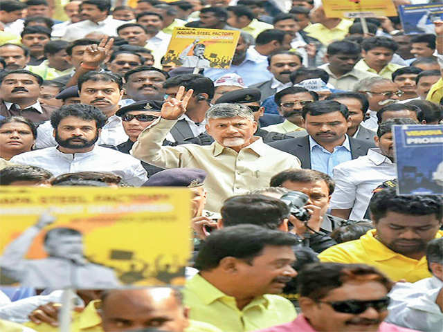 Why Naidu is using special category status for Andhra