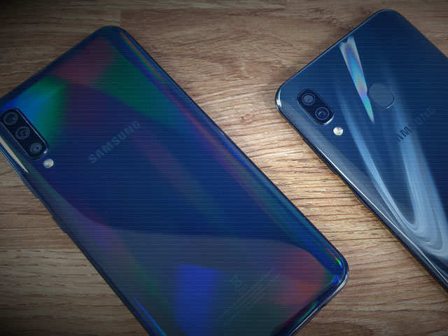 Samsung A30, A50 bring premium flagship features to mid-range phones