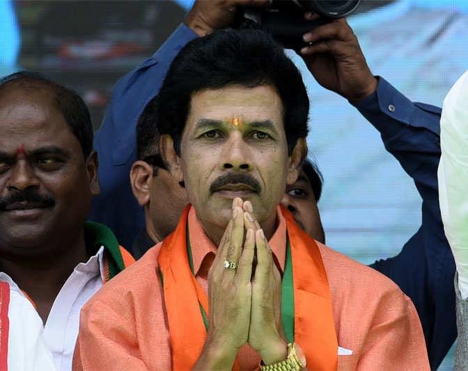 B  Janardhan Reddy: B  Janardhan Reddy BJP from CHEVELLA in